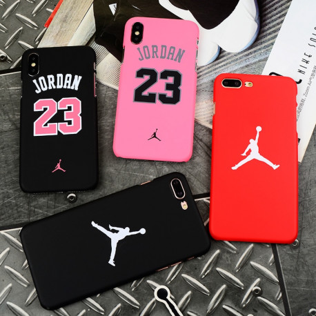 Hot Jordan 23 Chicago bull sports Matte hard plastic case for iphone 7 7plus 5 5s se 6 S 6s plus 8 8plus X Coque cover casesAdd