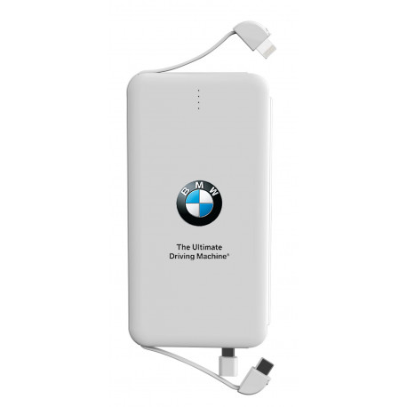 BMW 5000mAh Charger for Android/iPhone/PS4/Controller With USB & Micro USB Adapter