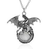 Game of Throne dragon Pink Luminous Dragon Pendant