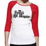 Harley Quinn Women's Short Sleeve T-shirt Suicide Squad Daddy's Lil Monster