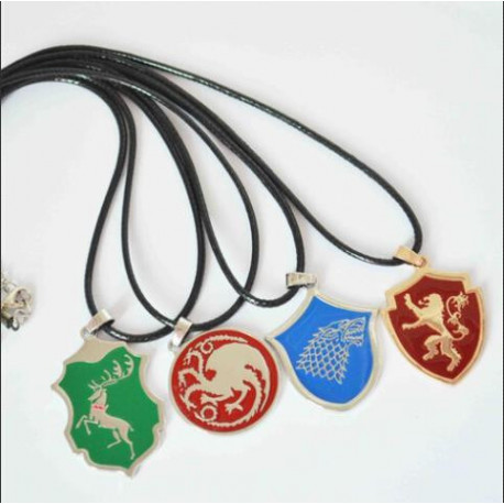 Game of Thrones Animal Crest Pendant Necklace
