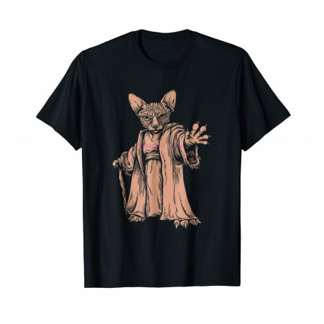 Limited Edition Master Sphynx Cats Lover Pet Gift Funny Yoda