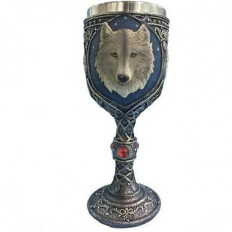 Game Of Thrones Wolf Goblet - Great For Beer Wine Coffee Whiskey