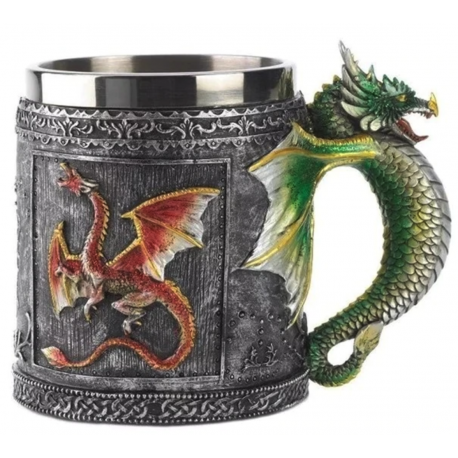 Game Of Thrones Dragon Tankard - Great For Beer Wine Coffee Whiskey