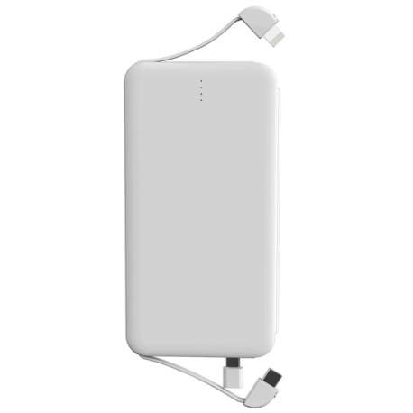 iPhone Powerbank With Lightning USB and Micro USB Adapter