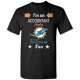 Miami Dolphins Fan Accountant T-Shirt