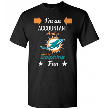 Miami Dolphins Fan Accountant T-Shirt