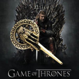 Game of Thrones Bronze Alloy Metal Skeleton Hand Brooche