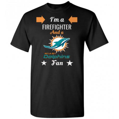 Firefighter Miami Dolphins Fan