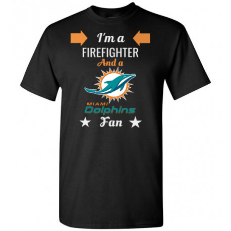 Firefighter Miami Dolphins Fan