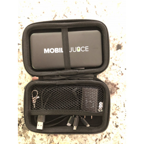 Camouflage Portable Device Charging Kit With External 5000mAh Charger Android/iPhone