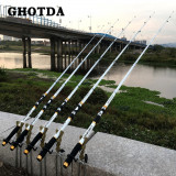 Heavy Duty Carbon Fiber Telescopic Fishing Pole