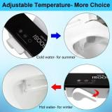 Ultra Thin Non-Electric Toilet Seat Bidet Attachment Hot/Cold Adjustable Sprayer