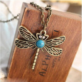 Game Of Thrones Pendant Necklace Song Of Ice And Fire Sansa Stark Vintage Dragonfly