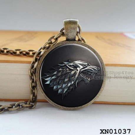 Game of Thrones Song of Fire & Ice Pendant Necklace