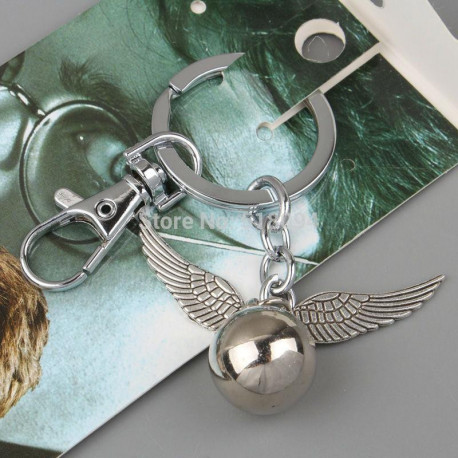 Game of Thrones Stainless Steel Wings Silver or Bronze Keychain
