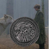Game of Thrones Wolf Brooch