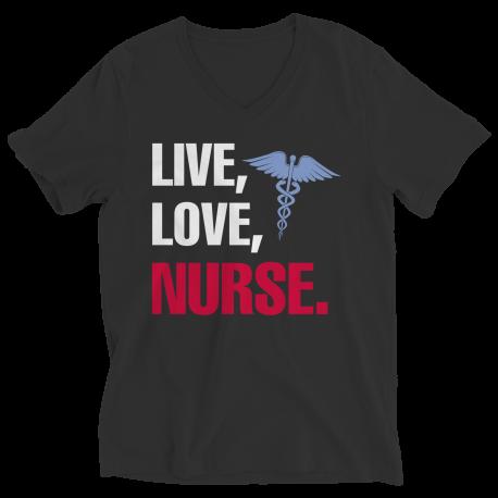 Live Love Nurse -  Unisex Shirt