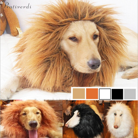 Party Lion Mane  Wig for Cats to large Dogs