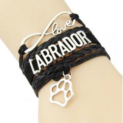 LOVE LABRADOR BRACELET