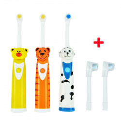 Baby  toothbrush With 3 pcs Heads