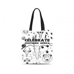 CELEBRATE SOUTHERN AFRICA Canvas Tote Bag