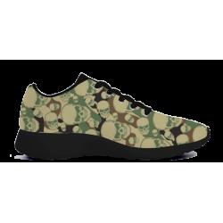 Camouflage Skull Sneaker