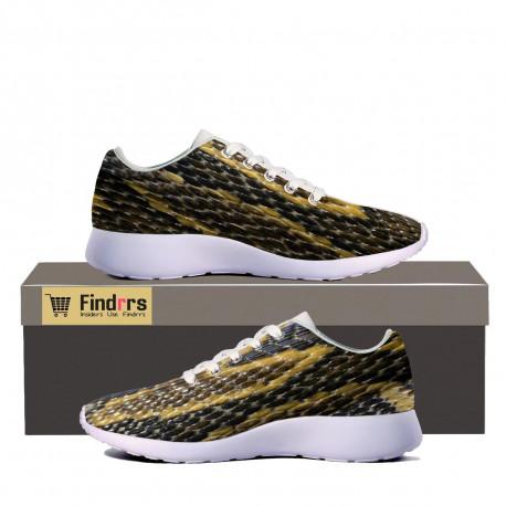 Snakeskin Sneakers