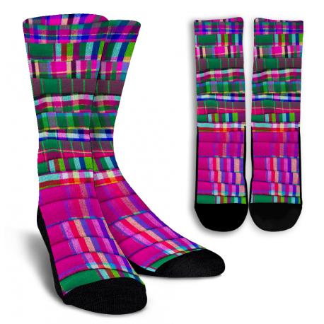 Scarf Crew Socks