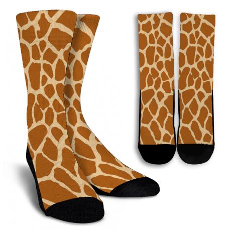 Giraffe Crew Socks