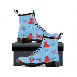 Yoga Cat - Womens Leather Boots