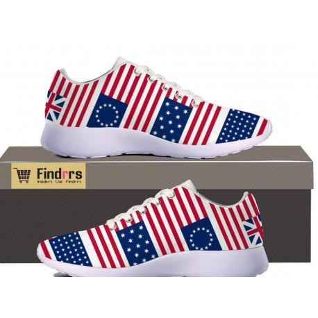 US Flag History Sneakers