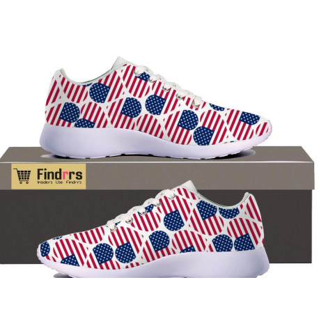 'I Love USA' Premium Casual Sneakers