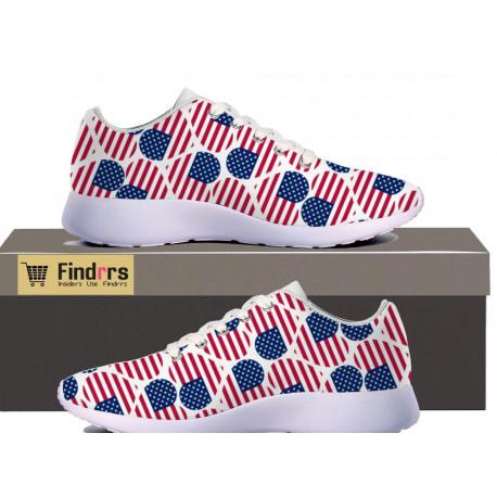 'I Love USA' Premium Casual Sneakers