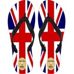 Flip Flops  Union Flag by Fellipe Fillop