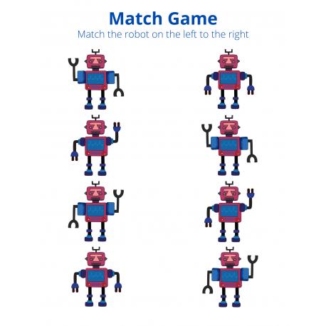 Match Game - Robots 1
