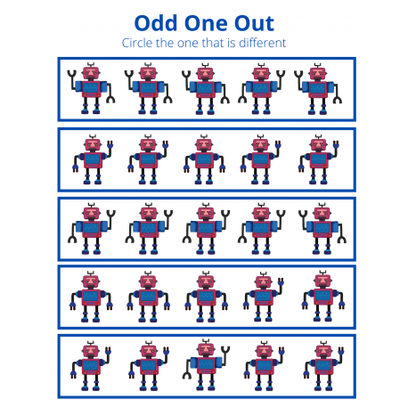 Odd One Out - Robot 1