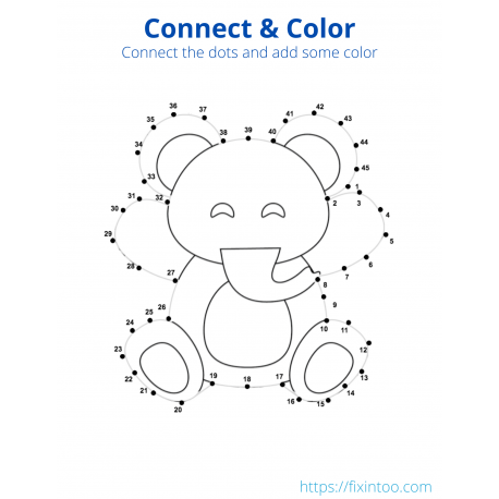 Connect & Color - Animals Volume 1