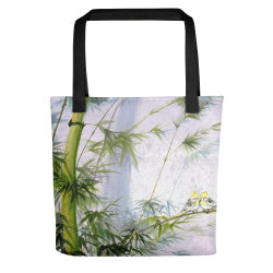 "Tote bag  ""Evergreen Love"""