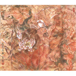 """Floral """"Coral"""" (Autumn)"""
