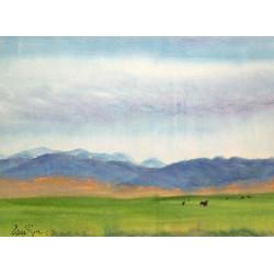 """Western Landscapes """"Serene Valley"""""""