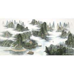 """Asian Landscapes """"Natural Sanctuary"""""""
