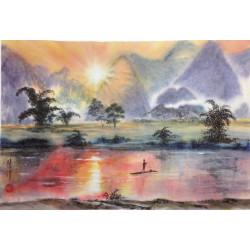 "Asian Landscapes ""Radiant Peace"""
