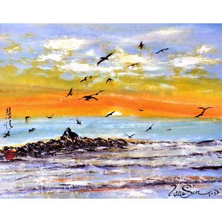 """Seascapes """"Freedom"""""""