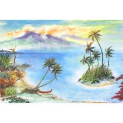 """Contemporary """"Tropical Calm"""""""