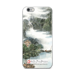 """iPhone Case """"The Way To Freedom Is Through The Heart"""""""