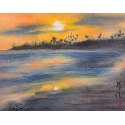 """Seascapes """"Gift At Day's End"""""""