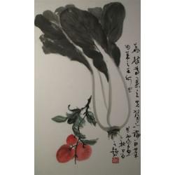 "Floral ""Prince of Fruit, King of Veggies"""