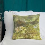 """Pillow  """"Amber Lotus (Summer)"""""""