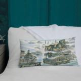 "Premium Pillow  ""Shangri La"""